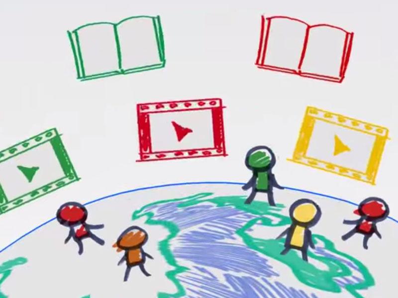 Reading Rainbow Kickstarter Video Animation